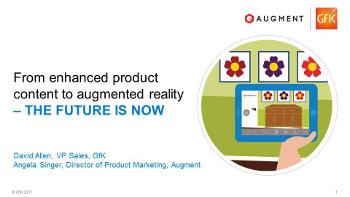 Dal contenuto del prodotto migliorato per la realtà aumentata – il futuro è adesso